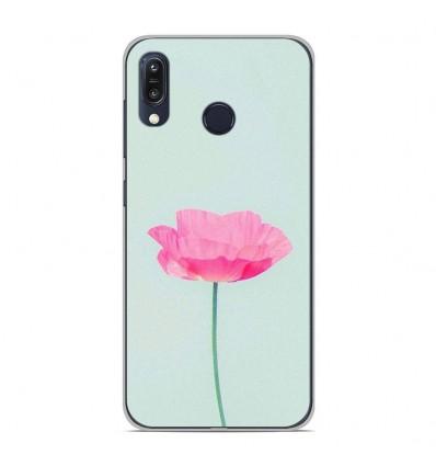 Coque en silicone Asus Zenfone Max M1 ZB555KL - Fleur Rose