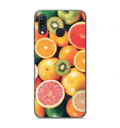 Coque en silicone pour Asus Zenfone Max M1 ZB555KL - Fruits