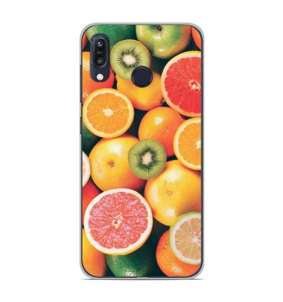 Coque en silicone Asus Zenfone Max M1 ZB555KL - Fruits