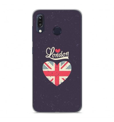Coque en silicone Asus Zenfone Max M1 ZB555KL - I love London