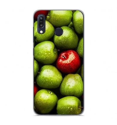 Coque en silicone Asus Zenfone Max M1 ZB555KL - Pommes