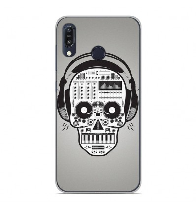 Coque en silicone Asus Zenfone Max M1 ZB555KL - Skull Music