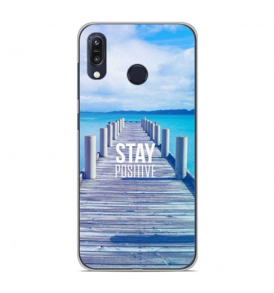 Coque en silicone Asus Zenfone Max M1 ZB555KL - Stay positive