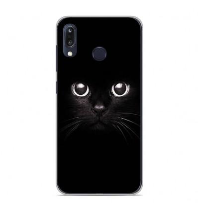 Coque en silicone Asus Zenfone Max M1 ZB555KL - Yeux de chat