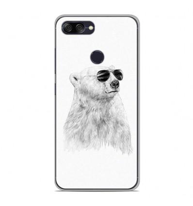 Coque en silicone Asus Zenfone Max Plus M1 ZB570TL - BS Sunny bear