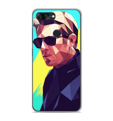 Coque en silicone Asus Zenfone Max Plus M1 ZB570TL - ML King of Cool