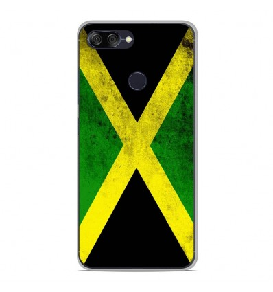 Coque en silicone Asus Zenfone Max Plus M1 ZB570TL - Drapeau Jamaïque