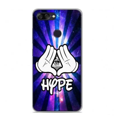 Coque en silicone Asus Zenfone Max Plus M1 ZB570TL - Hype Illuminati