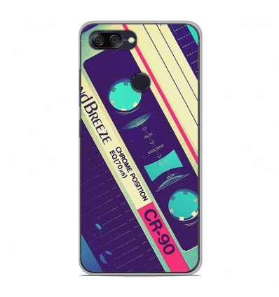 Coque en silicone Asus Zenfone Max Plus M1 ZB570TL - Cassette Vintage