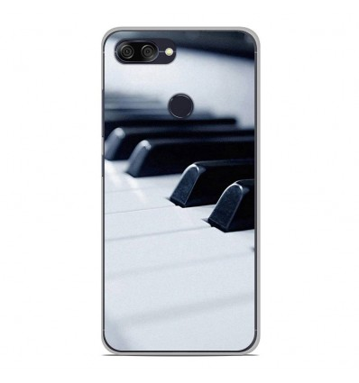 Coque en silicone Asus Zenfone Max Plus M1 ZB570TL - Piano