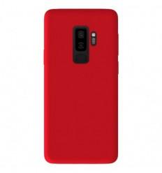 Coque Samsung Galaxy S9 Plus Silicone Gel mat - Rouge Mat