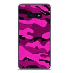 Coque en silicone Samsung Galaxy S10e - Camouflage rose