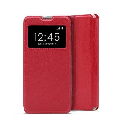 Etui Folio Huawei P30 Lite - Rouge