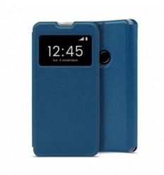 Etui Folio Huawei Y6 2019 - Bleu