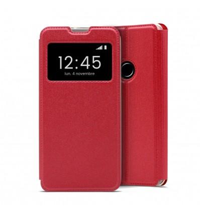 Etui Folio Huawei Y7 2019 - Rouge