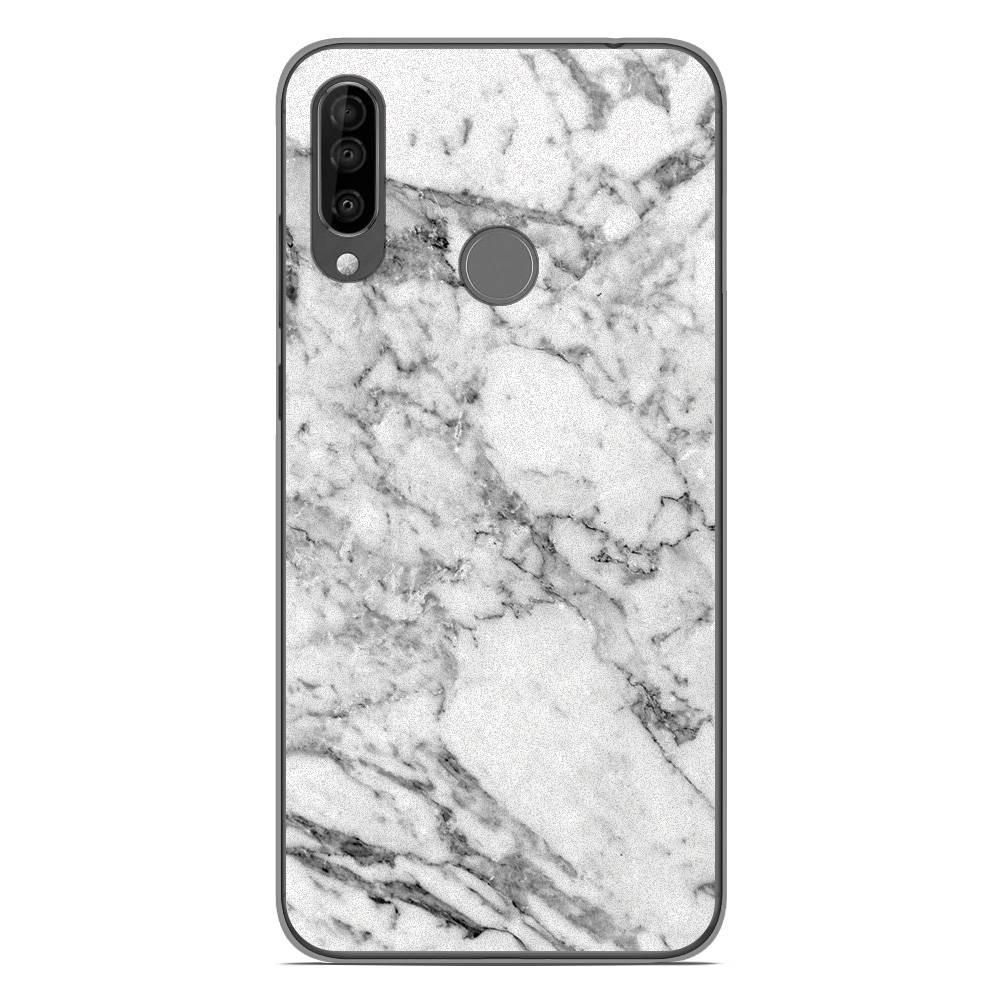 Coque en silicone Wiko View 3 - Marbre Blanc