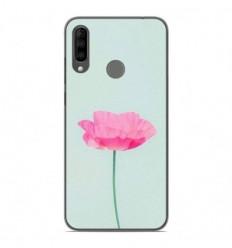 Coque en silicone Wiko View 3 - Fleur Rose