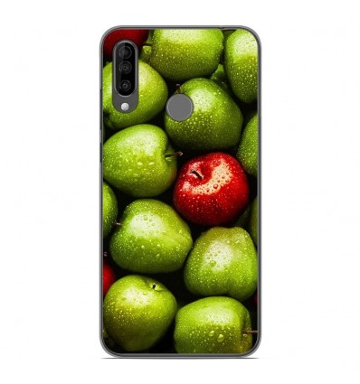 Coque en silicone Wiko View 3 - Pommes