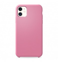 Coque Apple iPhone 11 Silicone Soft Touch - Rose