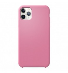 Coque Apple iPhone 11 Pro Silicone Soft Touch - Rose