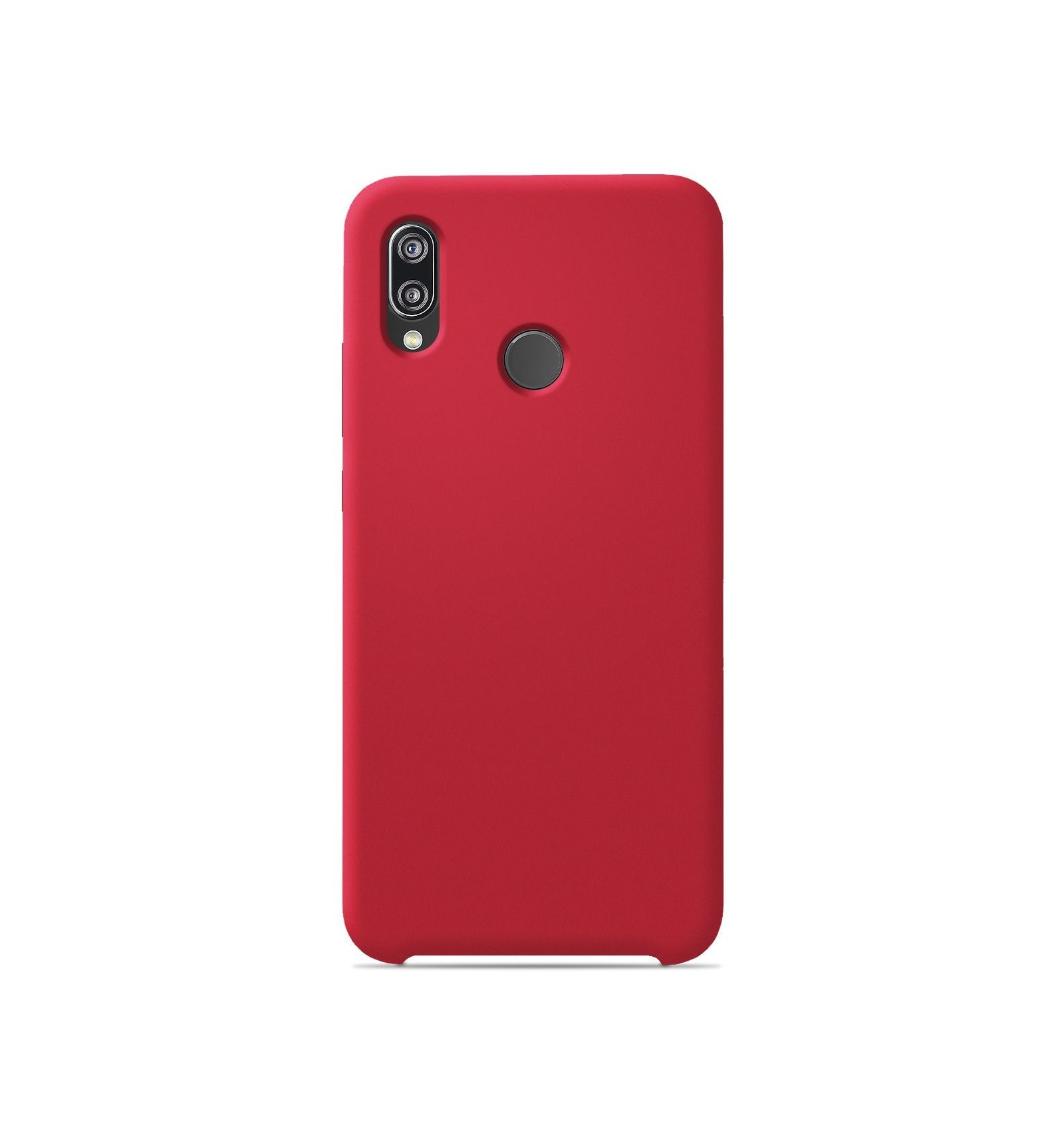 Coque Huawei P20 Lite Silicone Soft Touch - Rouge