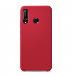 Coque Huawei P30 Lite Silicone Soft Touch - Rouge
