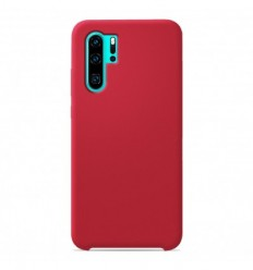 Coque Huawei P30 Pro Silicone Soft Touch - Rouge