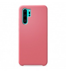Coque Huawei P30 Pro Silicone Soft Touch - Saumon