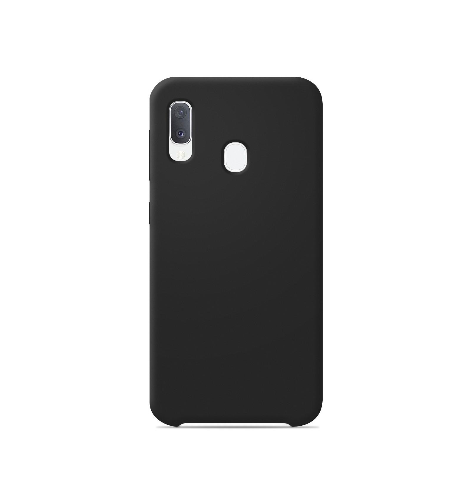 Coque Samsung Galaxy A20e Silicone Soft Touch - Noir