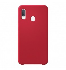 Coque Samsung Galaxy A20e Silicone Soft Touch - Rouge