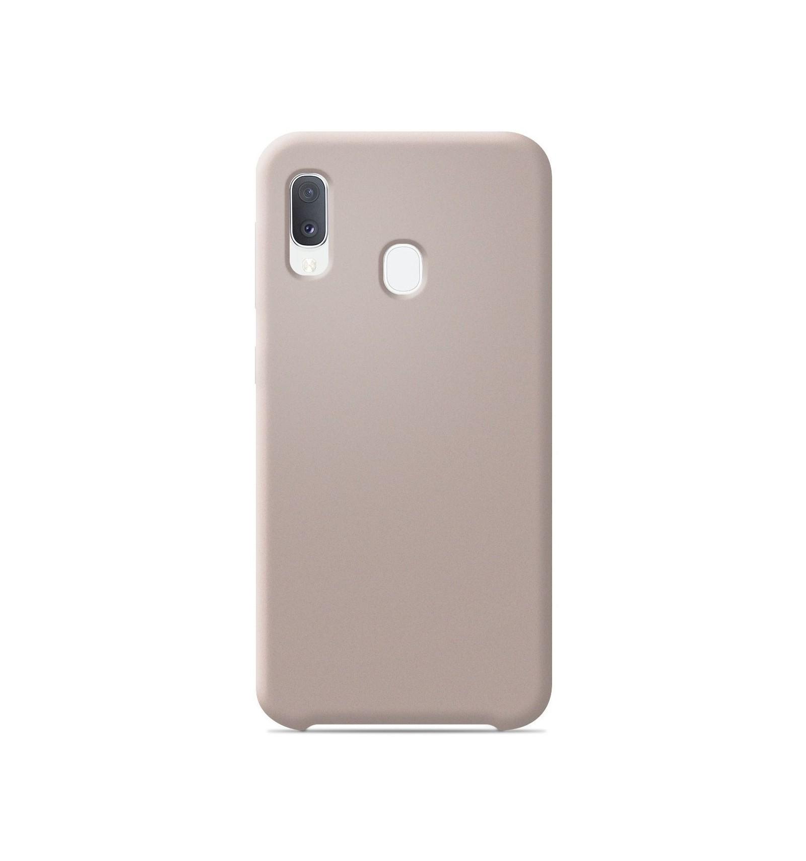 Coque Samsung Galaxy A20e Silicone Soft Touch - Sable rosé