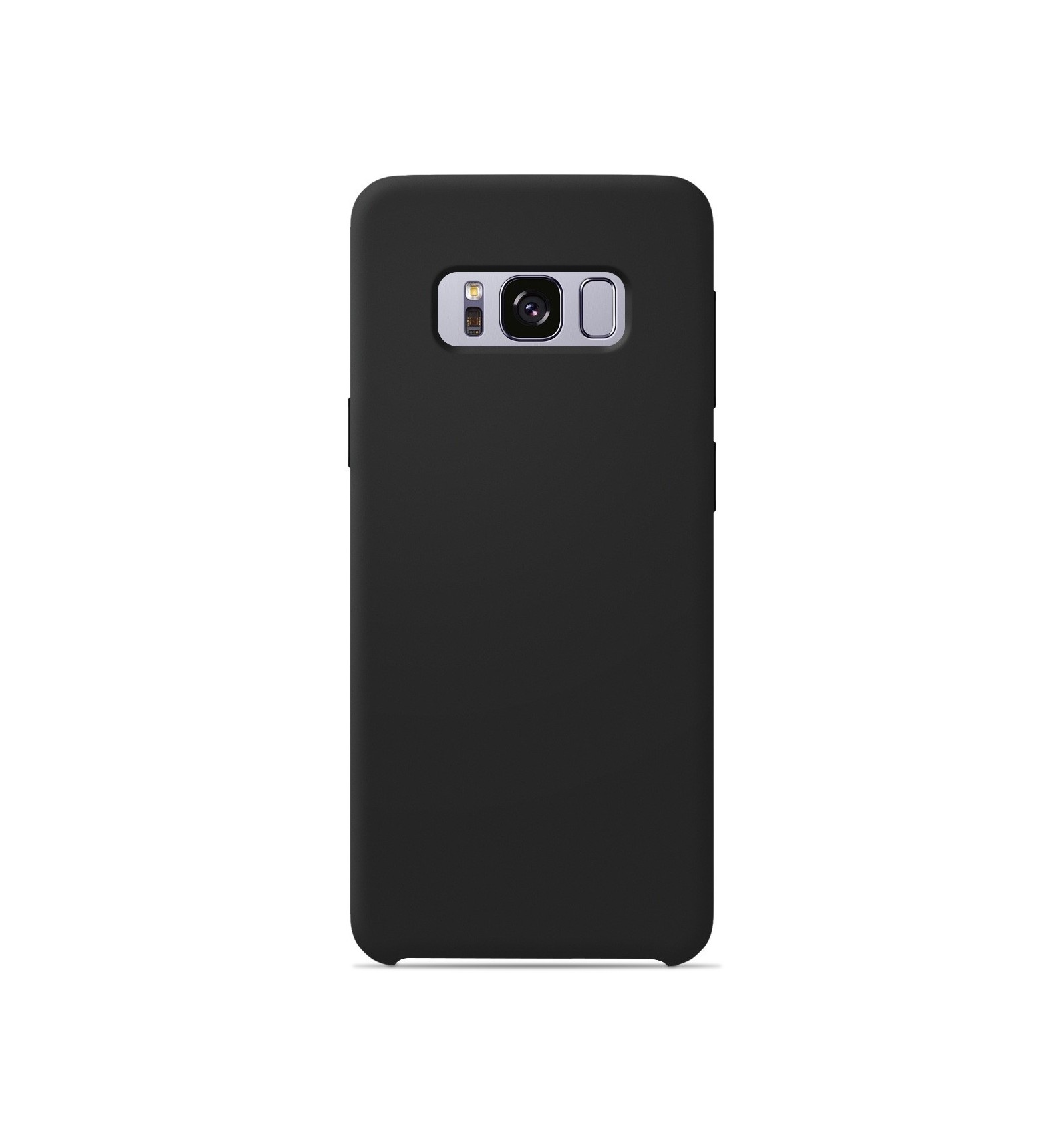 Coque Samsung Galaxy S8 Silicone Soft Touch - Noir