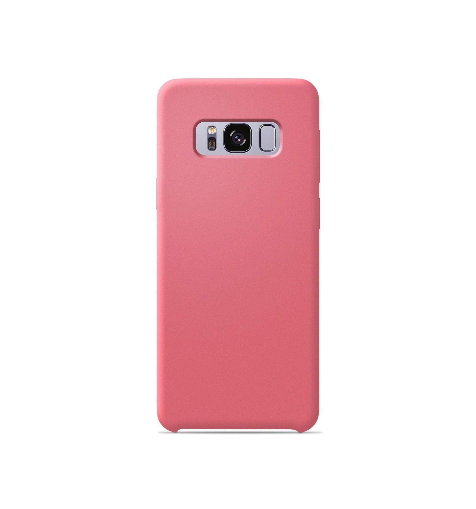 Coque Samsung Galaxy S8 Silicone Soft Touch - Saumon