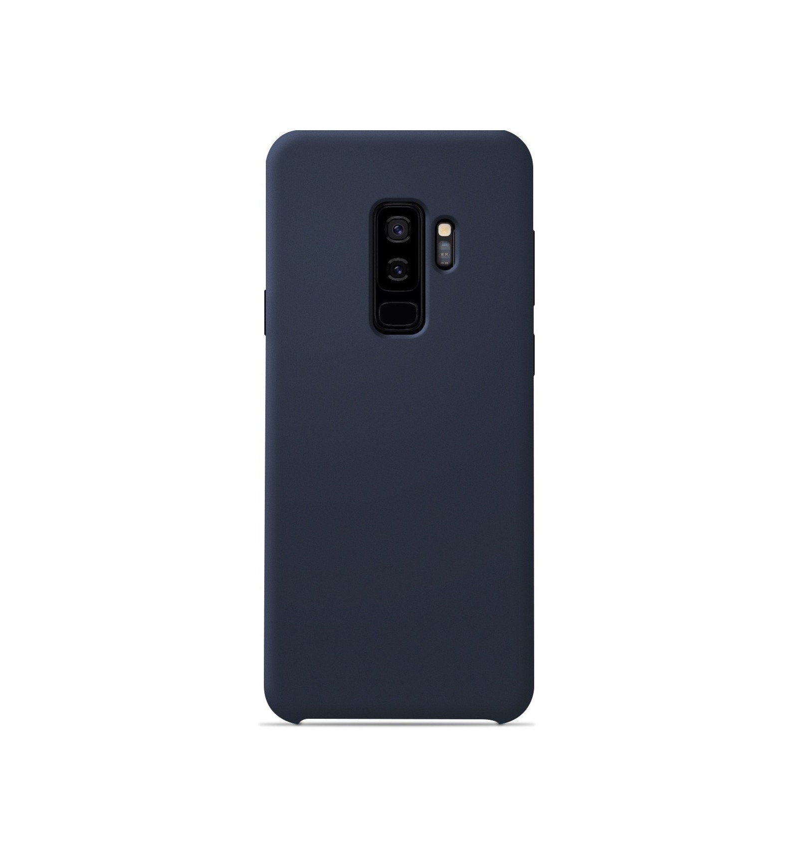Coque Samsung Galaxy S9 Plus Silicone Soft Touch - Bleu nuit