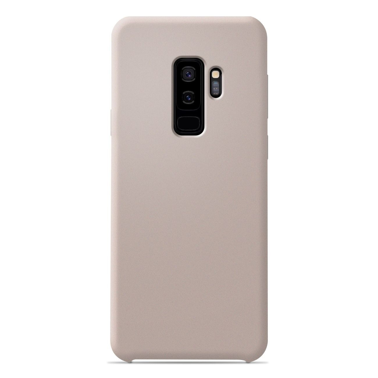 Coque Samsung Galaxy S9 Plus Silicone Soft Touch - Sable rosé