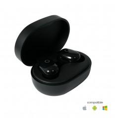 Ecouteurs Sans fils Bluetooth - Noir