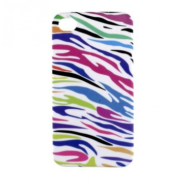 Coque rigide Apple iPhone 4 / 4S motif - Coloré graphique