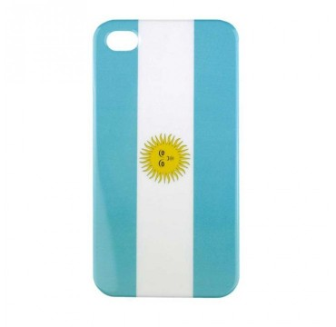 Coque rigide Apple iPhone 4 / 4S motif - Drapeau argentine