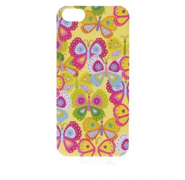 Coque rigide Apple iPhone 5 / 5S motif - Papillon