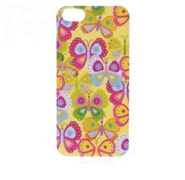 Coque rigide Apple iPhone 5 / 5S motif - Papillon