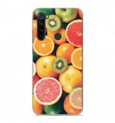 Coque en silicone Xiaomi Redmi Note 8 - Fruits