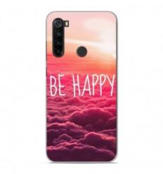 Coque en silicone Xiaomi Redmi Note 8T - Be Happy nuage