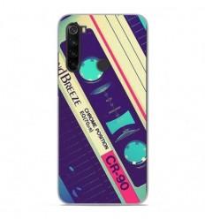 Coque en silicone Xiaomi Redmi Note 8T - Cassette Vintage