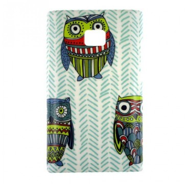 Coque rigide LG Optimus L3 motif - Hiboux