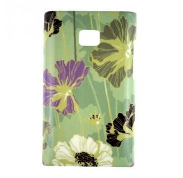 Coque rigide LG Optimus L3 motif - Fleurs