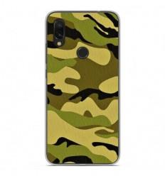 Coque en silicone Xiaomi Redmi 7 - Camouflage