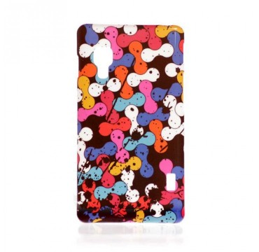 Coque rigide LG Optimus L5 II motif - Coloré graphique