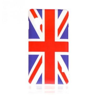 Coque rigide LG Optimus L5 II motif - Drapeau anglais