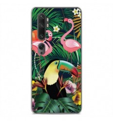 Coque en silicone Xiaomi Mi Note 10 - Tropical Toucan