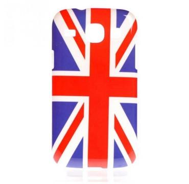 Coque rigide Samsung Galaxy Core motif - Drapeau anglais